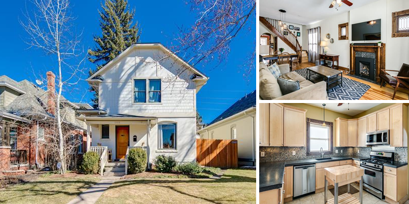 Sold! Beautiful 2-Story Home in Wash Park