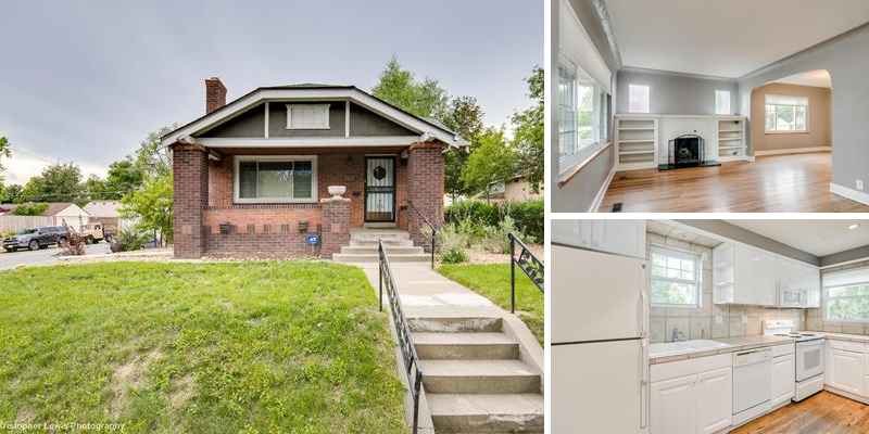 Sold! Charming Bungalow in Wash Park