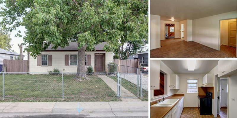 Sold! Single-Family, Ranch-Style Denver Home