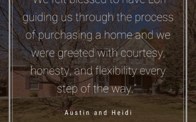 Austin and Heidi: Lori made sure that everything was set up for the contracts…