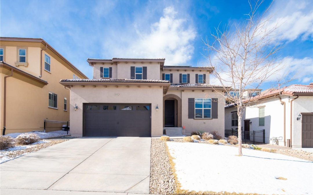 Just Listed: Stunning 2-Story Home in Lone Tree