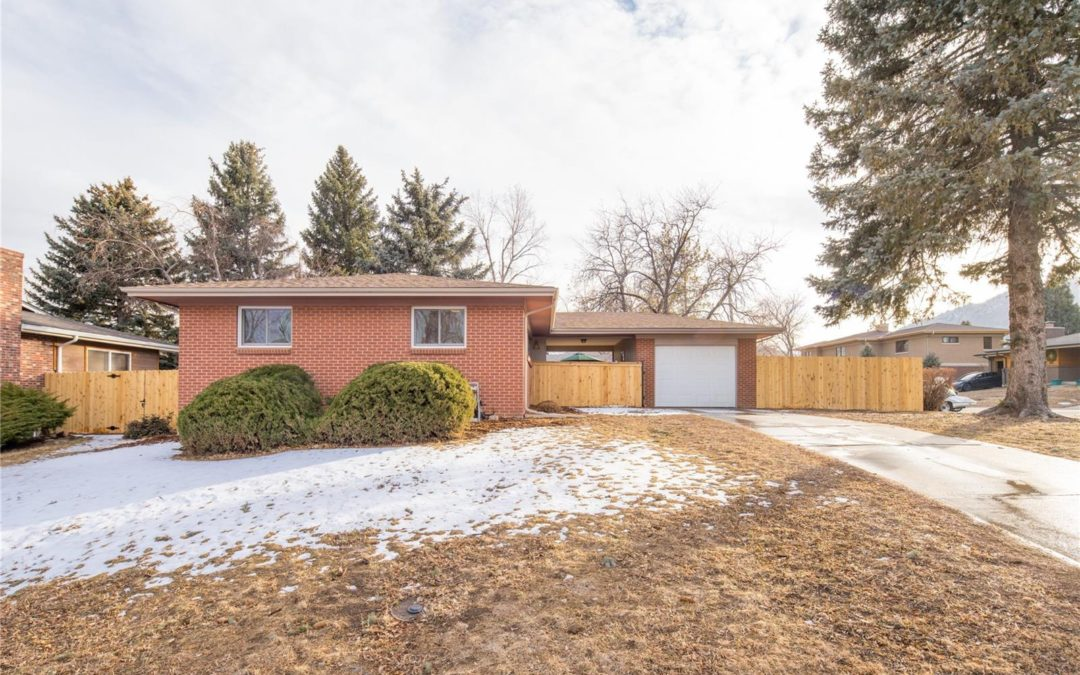 Sold: Amazing location in Golden!