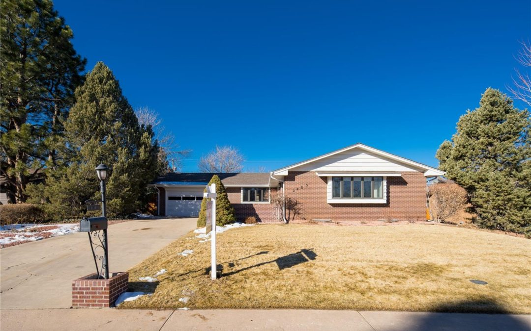 Sold: 2485 Willow Lane, Lakewood, CO 80215